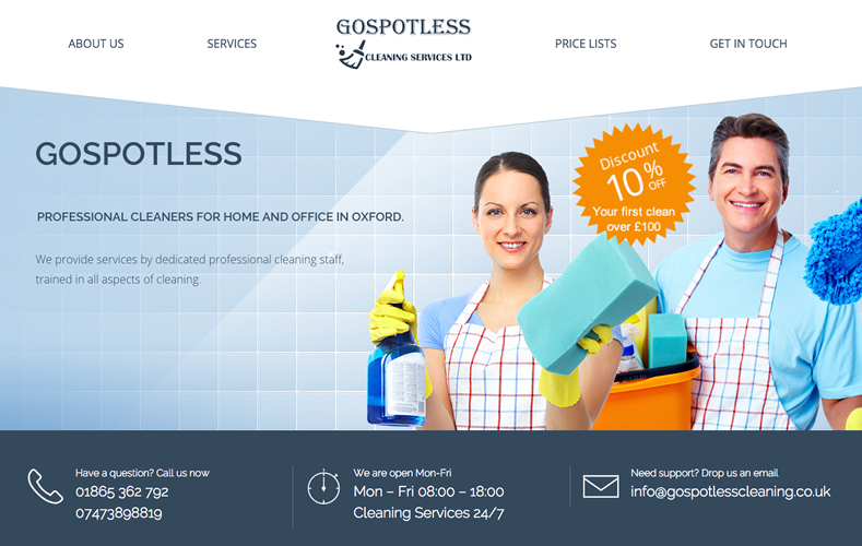 Go Spotless Cleaning